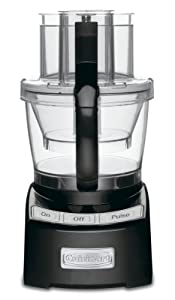 Cuisinart FP-12BK Elite Collection 12-Cup Food Processor, Black