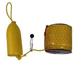 KUFA Sports Float Combo with Shrimp Trap Float and Polyester Rope Coil, 5 x 11-Inch by KUFA Sports