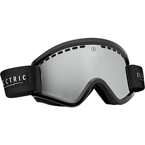 Electric Visual Egv Unisex Cylindrical Goggles, Gloss Black/Bronze/Silver Chrome, One Size