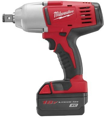 """Milwaukee Electric Tools - M18 3/4"""" High Torque Impact Wrench - 495-2664-22"""
