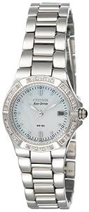Citizen Women's EW0890-58D Eco-Drive Riva Diamond Accented Watch
