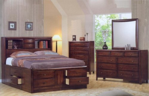 Hillary Queen Storage Bedroom Set
