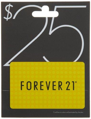 Forever 21 Gift Card $25