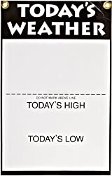 American Educational Todays Weather Wall Chart