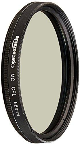AmazonBasics Filtre polarisant circulaire - 58mm