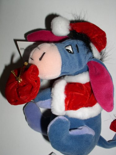 Disney - Santa Eeyore with Santa's Bag - Mini Bean Bag - 1
