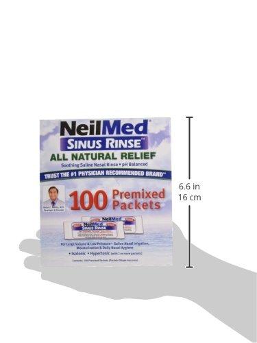 Nasal rinse salt