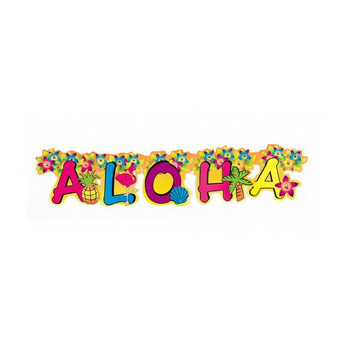 1 X Aloha Jointed Banner