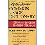 img - for Living Language German-English Dictionary: Living Language Common Usage Dictionaries by Genevieve A. Martin (1988-09-24) book / textbook / text book