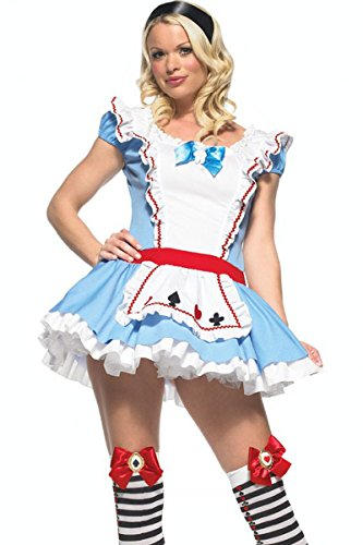 Adorable Alice in Wonderland Adult Costume