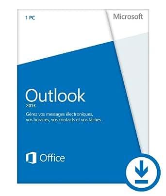 Microsoft Outlook 2013 - 1 PC / 1 utilisateur [Téléchargement]