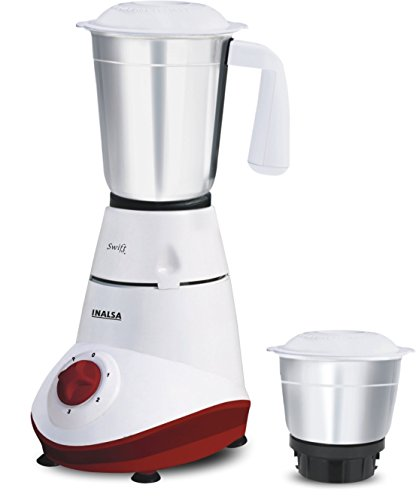 Inalsa Swift 500W Mixer Grinder (2 Jars)