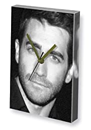 JAKE GYLLENHAAL - Canvas Clock (LARGE A3 - Signed by the Artist) #js002