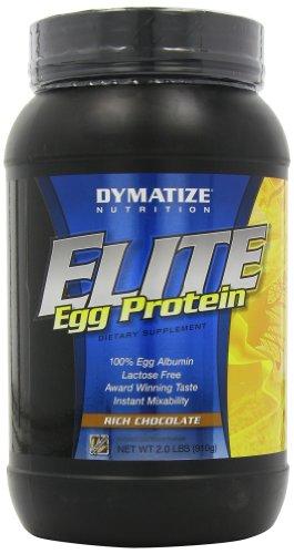 Dymatize Nutrition Elite Egg Protein, Rich Chocolate, 2.0-Pound