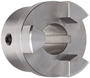 Boston Gear FC251 Shaft Coupling Half, FC25 Coupling Size, 1.000 inches Bore, 1-19/32 Thru Bore Length, 2.250 inches Hub Diameter, 19.3 Max HP at 1750 RPM, 845 Max Torque (LB-IN), Steel