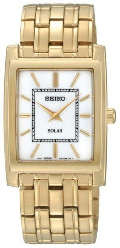 [Seiko] SEIKO watch Seiko SEIKO overseas model imports stainless steel solar solar cells daily waterproof watch Watch Gold
