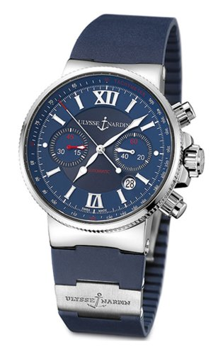 Ulysse Nardin Men's 353-66-3/323 Maxi Marine Chronograph Watch