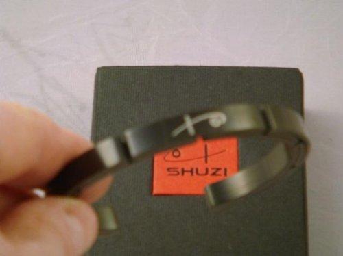 New Shuzi Bracelet Large Golf Tennis Black Color