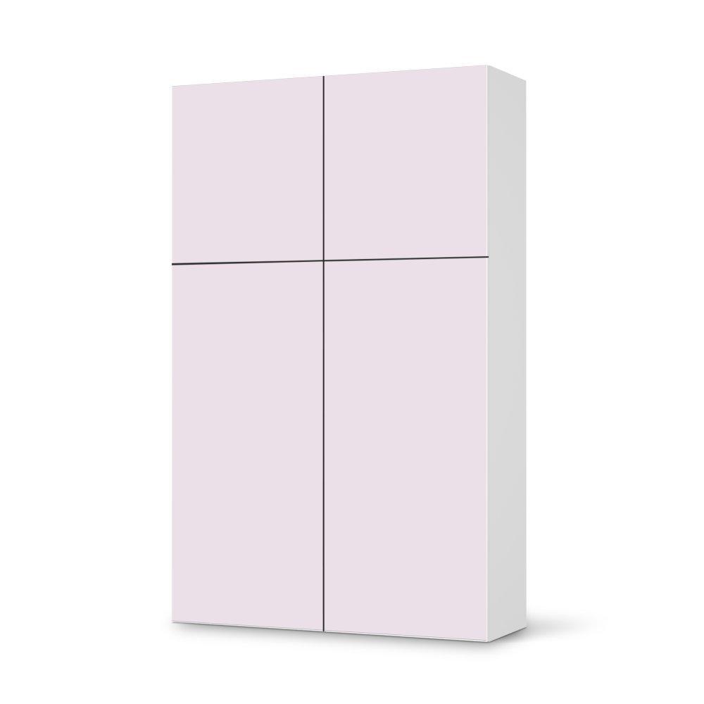 Folie IKEA Besta Schrank Hochkant 4 Türen (2+2) / Design Aufkleber Samtfarbe 3 / Dekorationselement kaufen