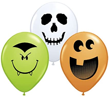 White Ghost Balloons Assortment White Ghost
