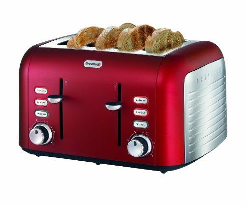 Breville Opula 4-Slice Stainless Steel Toaster from Breville