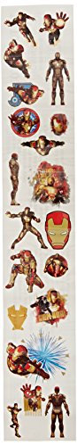 Paper Magic Iron Man 3 Roll of Tattoos - 1