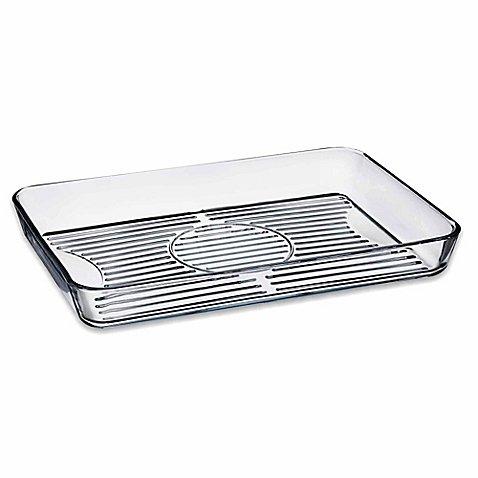 Healthy Borcam Nonstick Rectangular 15 3/4-Inch x 10 3/4-Inch Baking Grill Dish (Corning Ware Au Gratin compare prices)