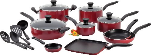 t-fal-a777si64-initiatives-nonstick-inside-and-out-dishwasher-safe-18-piece-cookware-set-red