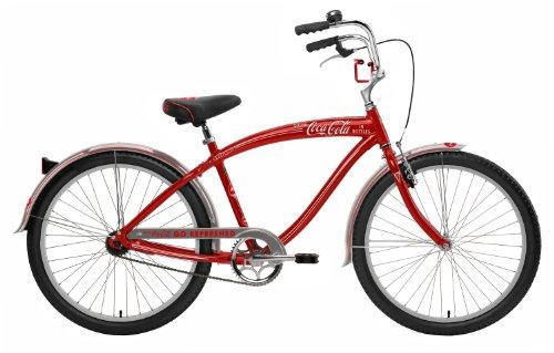 Nirve Men's Coca-Cola 1-Speed Cruiser Bicycle