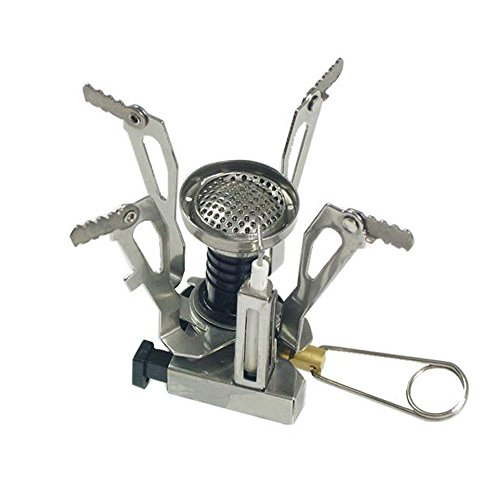 Bestbuygoods Special Offer Folding Mini Ultralight Camping Portable Ceramic Piezoelectric Ignition Classic Camping And Backpacking Stove Burner Bbg15S1201