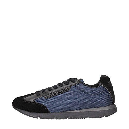 Versace Jeans E0YOBSF1 Sneakers Uomo Tessuto BLU BLU 41