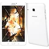 Samsung Galaxy Tab E SM-T3777 16GB 8-Inch 4G LTE + Wi-Fi Tablet PC - International Stock No Warranty (WHITE)