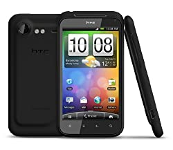 HTC Incredible S S710E Unlocked GSM Android Smartphone with 8 MP Camera, Wi-Fi, GPS, Touchscreen--International Version with No Warranty (Black)