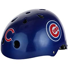 Chicago Cubs Multi-Sport (Skate, Bike) Helmet - MEDIUM by MLB