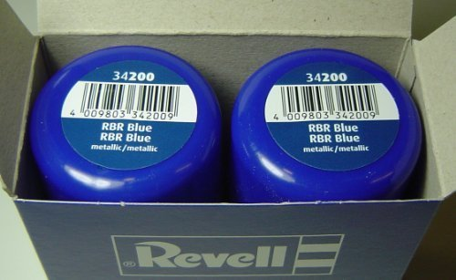 Revell-34200-Sprhlack-Doppelpack-2x100ml-RBR-Blue-metallic