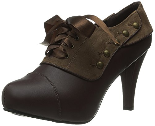 Ellie Shoes Women's 414 Steam Boot, Tan, 8 M US