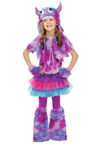 Polka-Dot-Monster-Kids-Costume