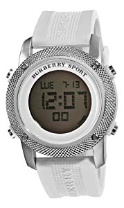 Burberry Men's BU7719 Sport digital Silver Digital Dial Watch