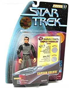 "CAPTAIN KOLOTH Star Trek: The Original Series Warp Factor Series 1 Action Figure from the Episode ""The Trouble With Tribbles"""