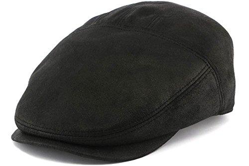 aussie-apparel-casquette-simili-cuir-noir-dooker-par-aussie-apparel-noir-xl-homme-femme