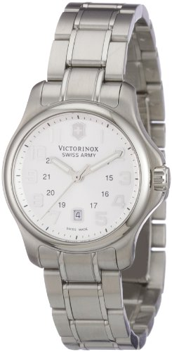 Victorinox Swiss Army Women's 241457 Officers XS Stainless Steel Silver Dial Watch