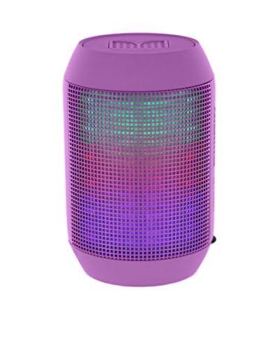 CAY Trading iPM Pump It Up LED Light Up Bluetooth Speaker, Purple