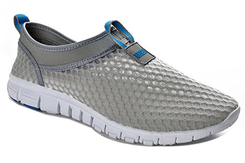 Men & Women Breathable Running Shoes,beach Aqua,Outdoor,Water,Rainy,Exercise,Climbing,Dancing,Drive (Size37 Blue)