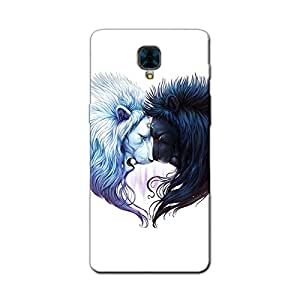 LIONS YIN YANG BACK COVER FOR ONE PLUS 3