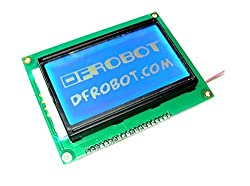 3-Wire Serial LCD Module (Arduino Compatible)/This LCD Module Uses A 128x64 Liquid Crystal Display That Support Chinese Character , English Characters And Even Graphics