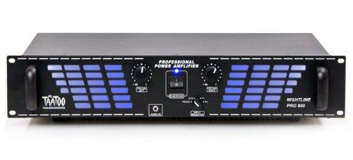 2400W PA-Amplifier Nightline Pro 800 black
