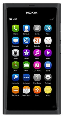 Nokia N9 (black) 16 Gigabyte EU Ware with dt. BDA sim-free, unbranded without Ver