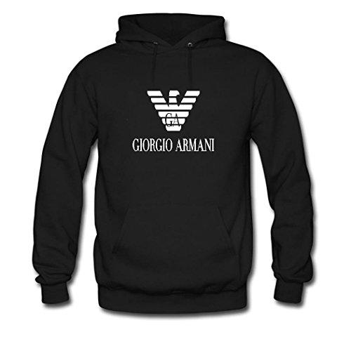 emporio-armani-logo-mens-classic-lightweight-cotton-pullover-hoodie-sweatshirts-medium-black