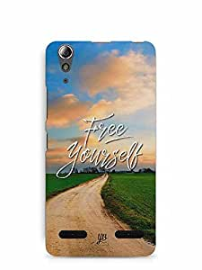 YuBingo Free Yourself Designer Mobile Case Back Cover for Lenovo A6000 Plus
