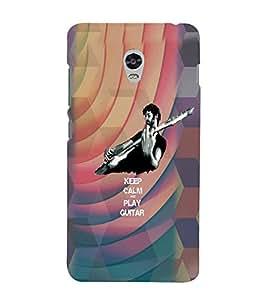 PrintVisa Quotes & Messages Music Guitar 3D Hard Polycarbonate Designer Back Case Cover for Lenovo Vibe P1M